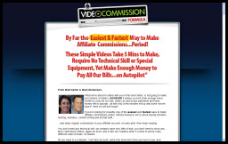 Video Commission Formula